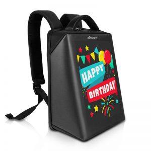 B-PIX4 LED Backpack Black-BIOSLED