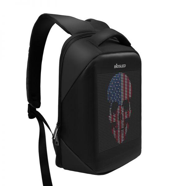 BIOSLED LED backpack B-Pro Black-2