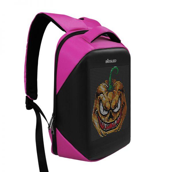 BIOSLED LED backpack B-Pro Pink-1