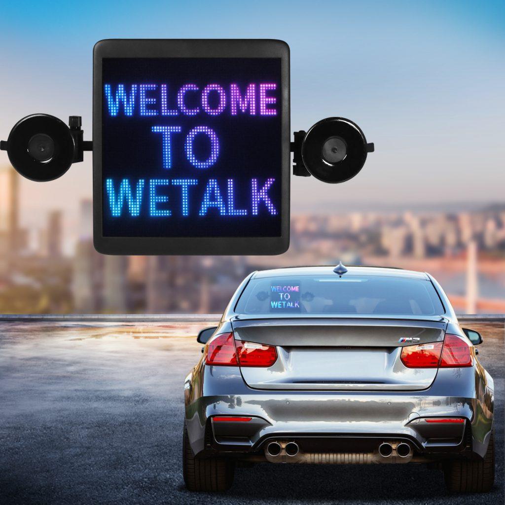 animation car display